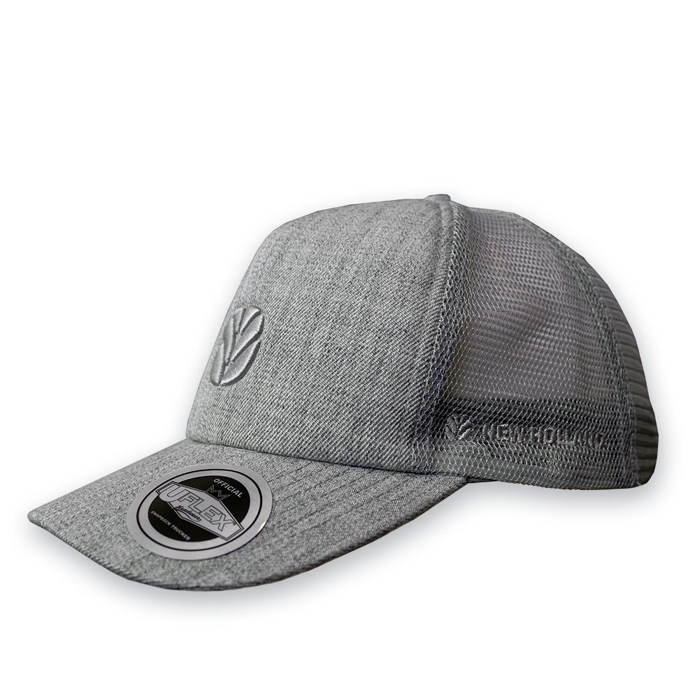 New Holland Uflex Curved Peak Trucker Cap